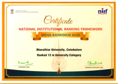 NIRF Ranking - 2020